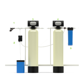 Система для удаления из воды железа и марганца