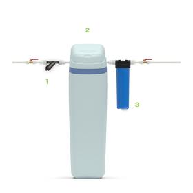 Компактная система умягчения AquaChief Cabinet