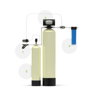 Система с аэрацией для удаления из воды железа и марганца