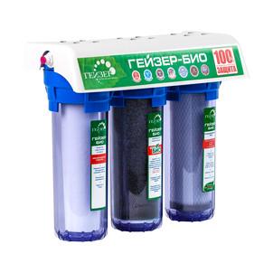 Фильтр Гейзер 3 Био 312 для мягкой воды прозрачный